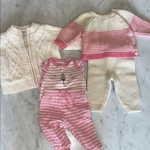 Baby Gap Sweater and Outfit Bundle